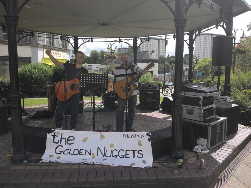 The Golden Nuggets at Bairnsfest 2013